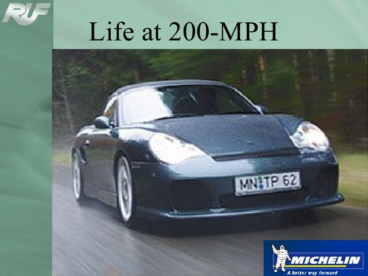 200 Mph:  The Tire's Persepctive