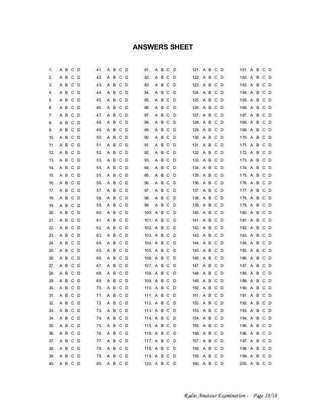 """... Results for """"100 Question Blank Answer Sheet"""" – Calendar 2015"""