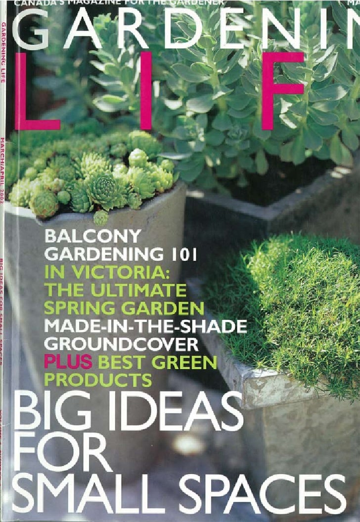 295 Davenport Road Gardening LIfe Feature March/April 2002