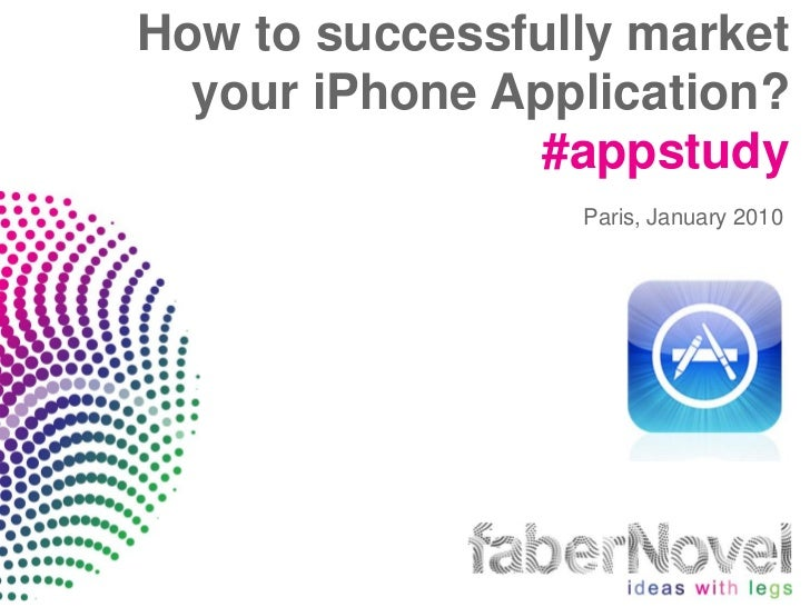 How to successfully market your iPhone Application