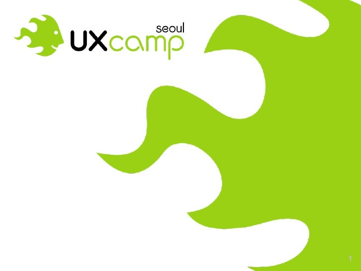 UXCampSeoul Opening