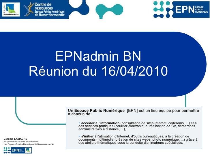 2010-04-16 - EPNadmin reunion