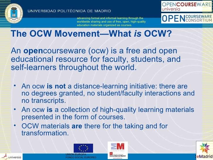 2010-04-16 eMadrid (EOI) UPM OCW