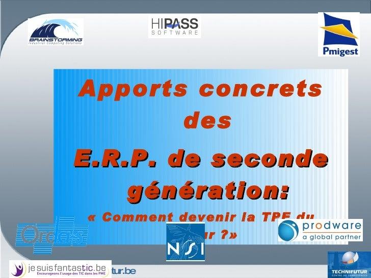 ERP, à destination des TPE et PME  - Jesuisfantastic