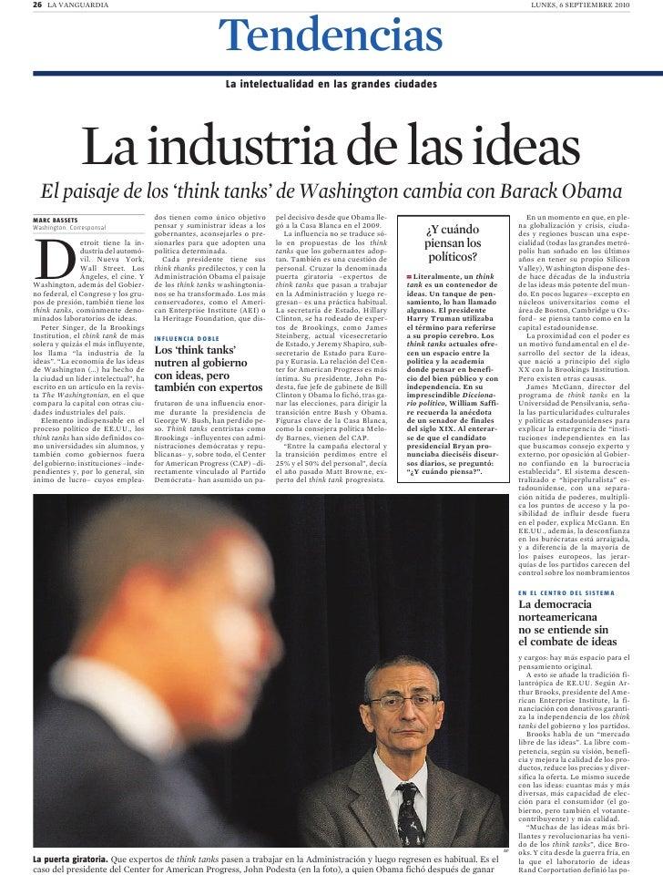 La industria de las ideas