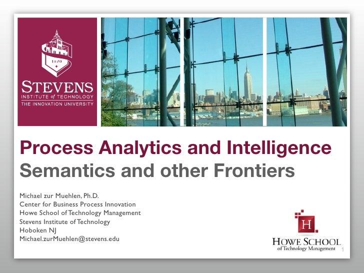 Business Process Intelligence Keynote