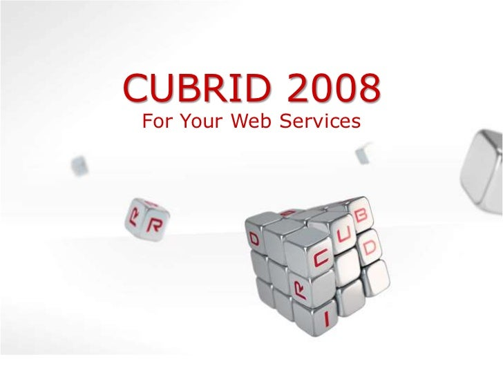 CUBRID presentation at Programatica Conference 2010