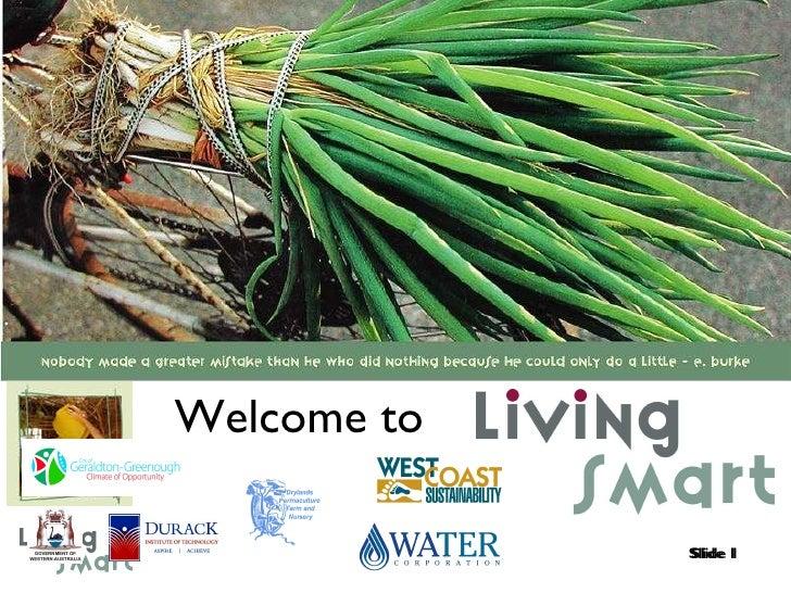 LivingSmart Geraldton 2010 - WaterSmart