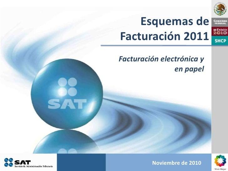 Esquema de Facturación Electrónica