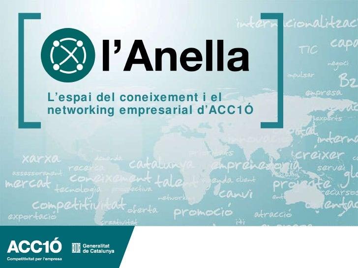 La nova Anella