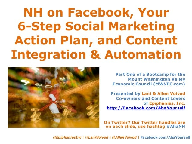 NH on Facebook, Your 6-Step Social Marketing Action Plan, and Content Integration & Automation @EpiphaniesInc | @LaniVoivo...