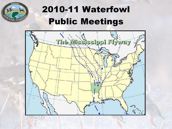 2010-11 Waterfowl Public Meetings