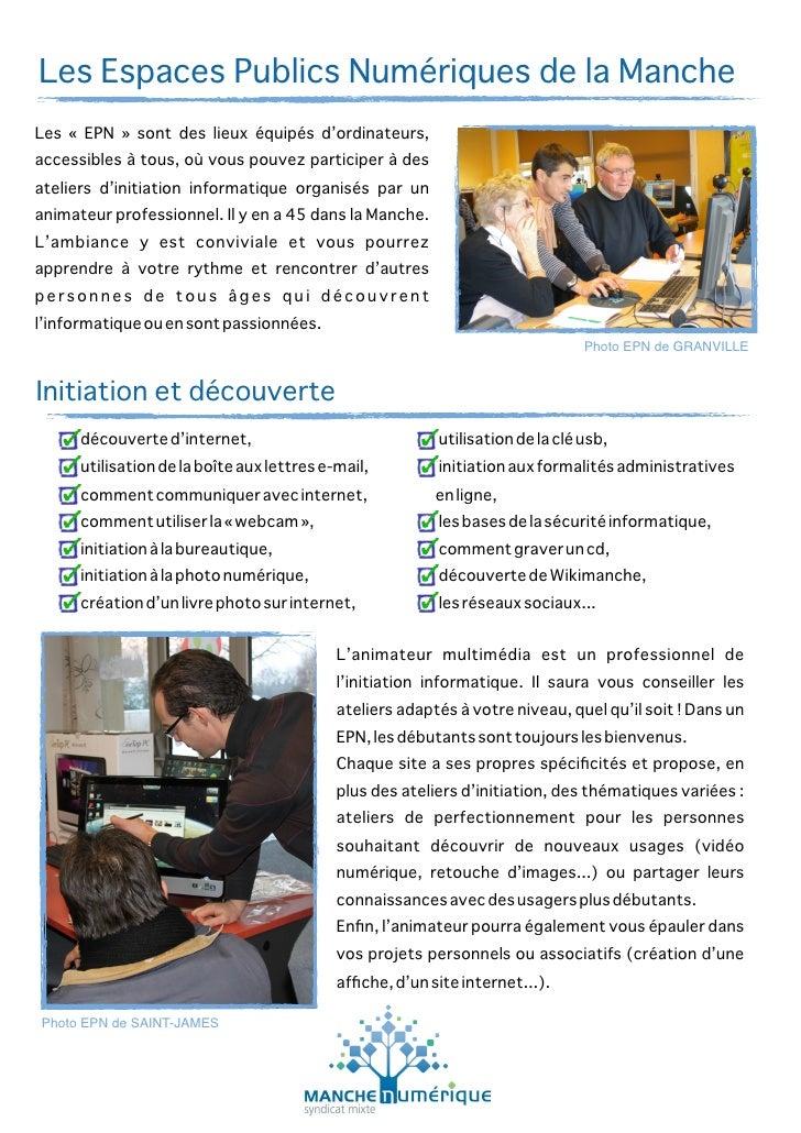 2010 12-01 - les espaces publics numériques de la manche (epn)