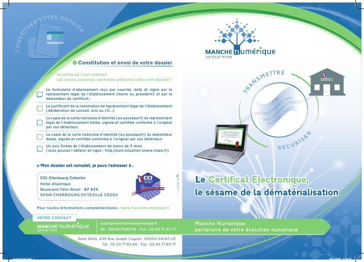 2010 12-01 - plaquette certificat electronique