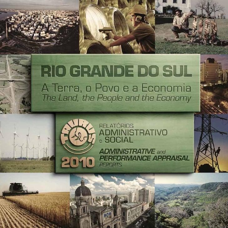 Relatório Administrativo e Social 2010