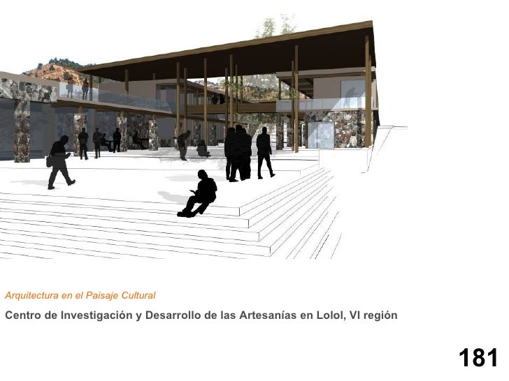 Centro de investigaci n y desarrollo de las artesan as en Arquitectura de desarrollo