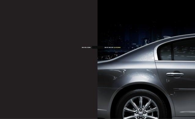 2010 Buick Lucerne Toledo Brochure