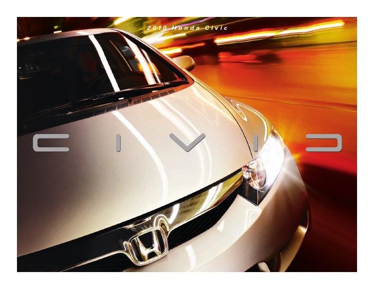 Herb Chambers 2010 Honda Civic Hybrid Brochure
