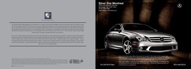 2010 Mercedes Benz CLS-Class Montreal Canada