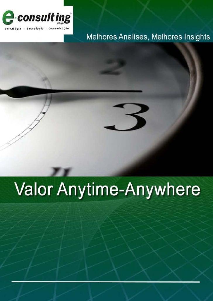 E-Book Valor Anytime-Anywhere E-Consulting Corp.  2010