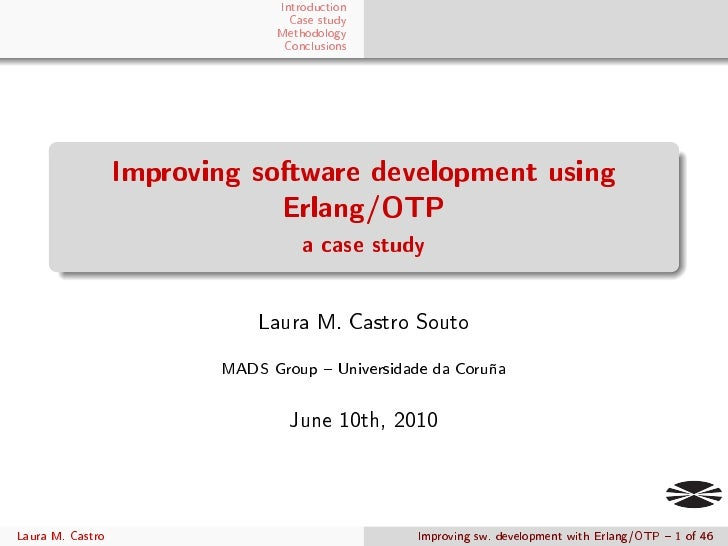 Introduction                                 Case study                               Methodology                         ...