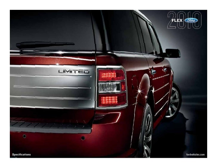 2010 Ford Flex Specification Summary