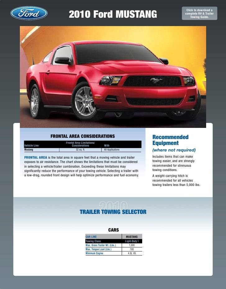 2010 ford-mustang-towing-guide-specifications-capabilities