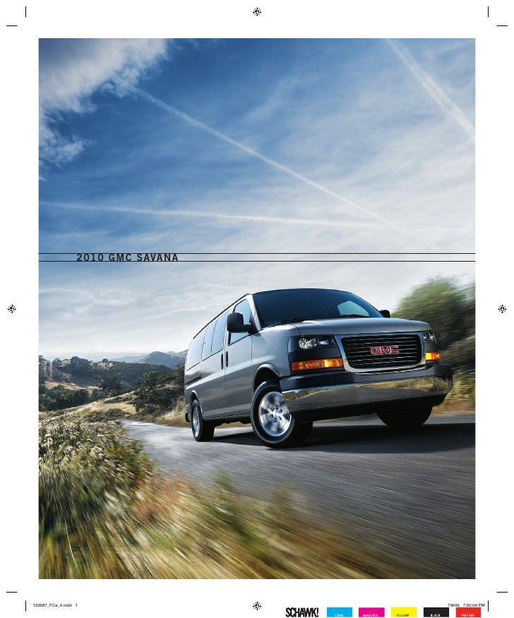 2010 GMC Savana Madison