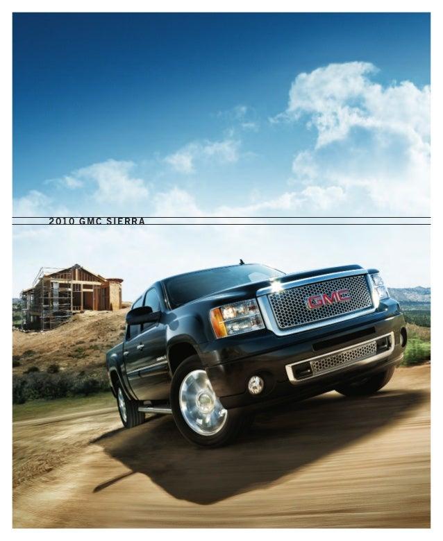 2010 GMC Sierra Toledo Brochure