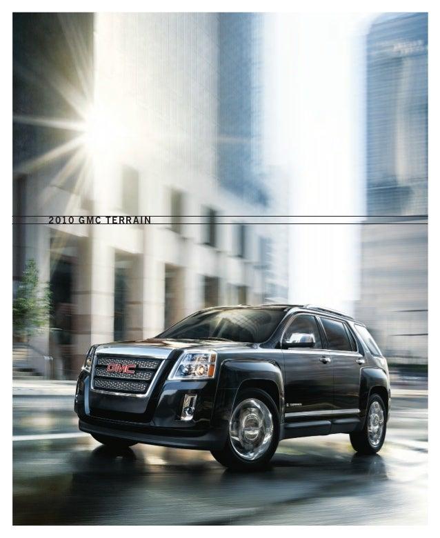 2010 GMC Terrain Toledo Brochure