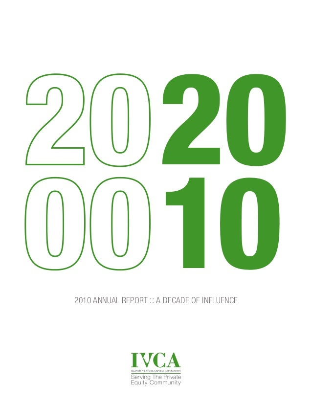 2010 ANNUAL REPORT :: A DECADE OF INFLUENCE 20 10