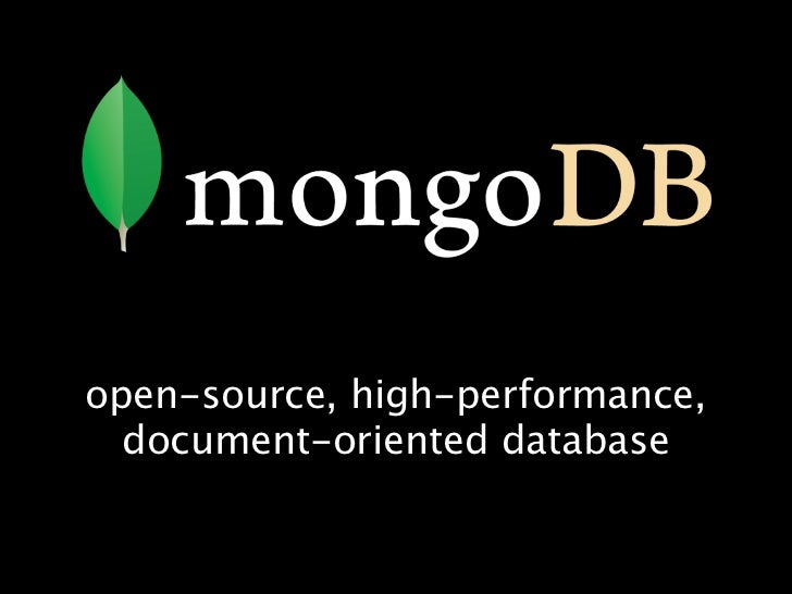 Sharding with MongoDB (Eliot Horowitz)