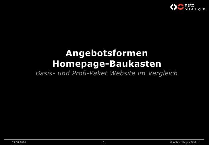 2010 netzstrategen - homepage-pakete