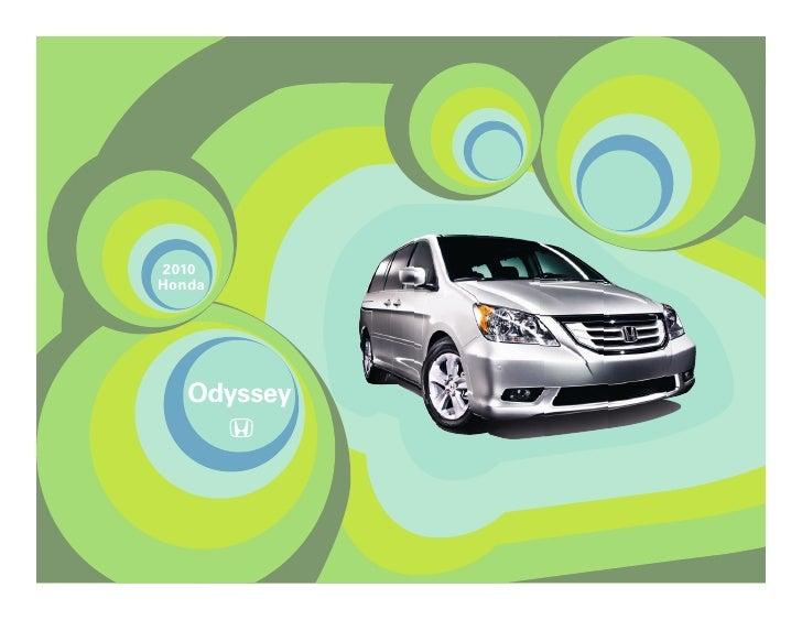 2010 odyssey-brochure-honda-dallas-tx