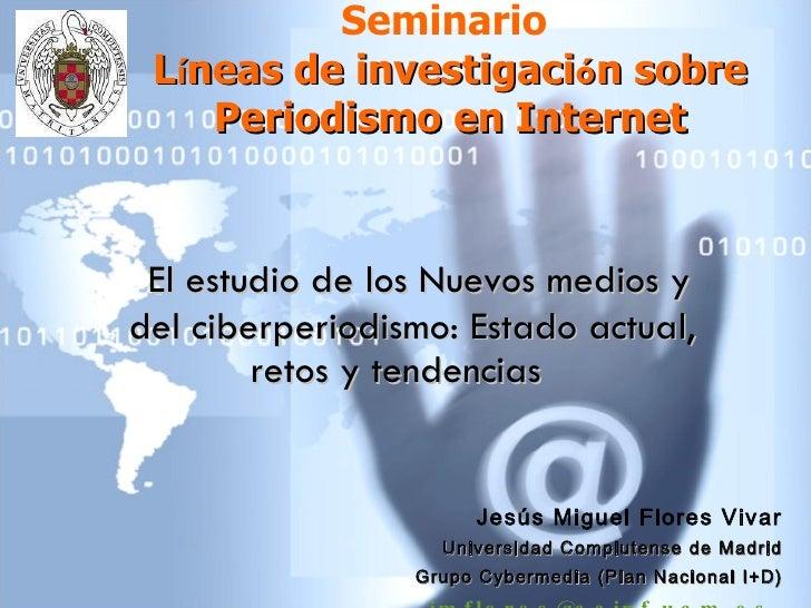 2010 Seminario Lineasinvestig Jflores UniversidadPiura