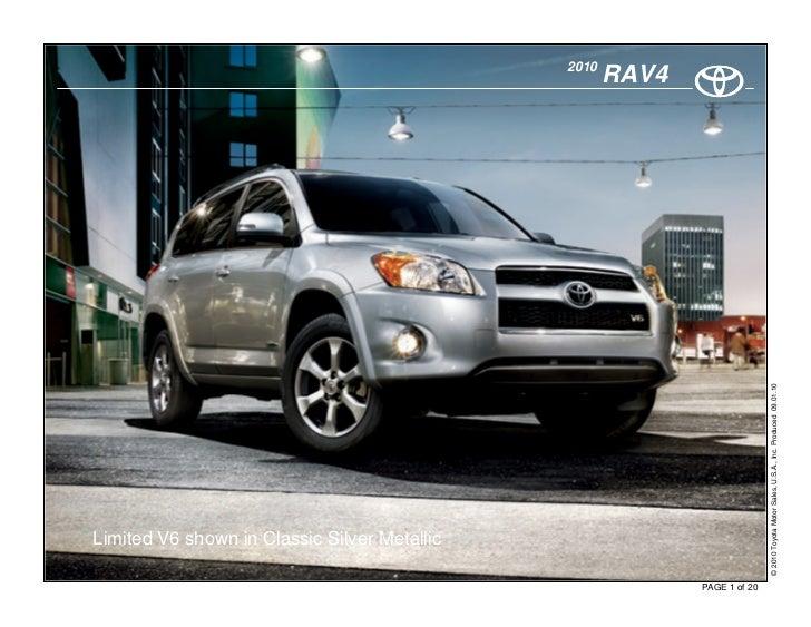 2010 Toyota Rav4 New Haven