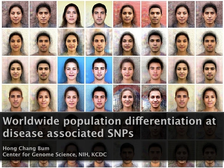 Worldwide population differentiation at disease associated SNPs Hong Chang Bum Center for Genome Science, NIH, KCDC