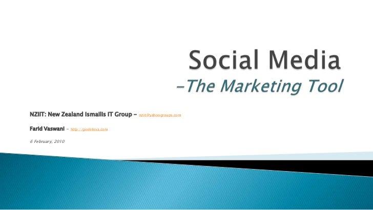 Social Media 20100206