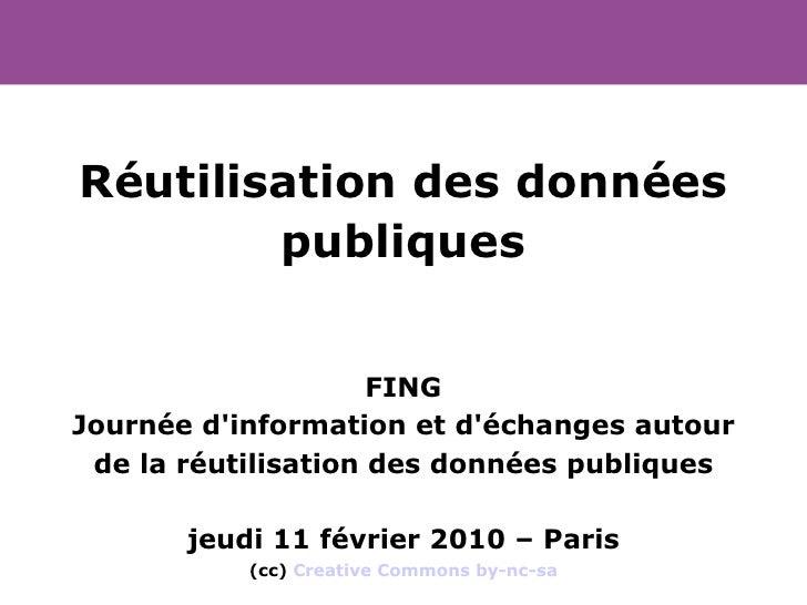 20100211    Partage De DonnéEs Publiques V2