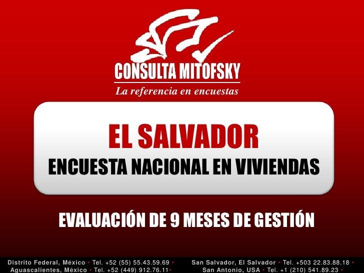 La referencia en encuestas                                    EL SALVADOR              ENCUESTA NACIONAL EN VIVIENDAS     ...