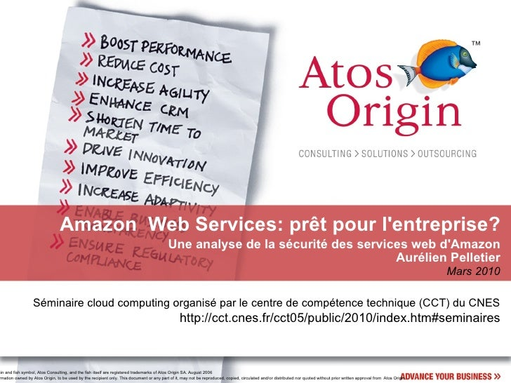 Sécurite Amazon Web Services