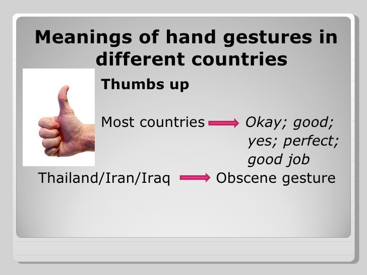 Hand Symbols And Meanings In Different Countries Digitalspacefo