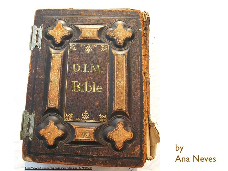 D.I.M.                                 Bible                                                       by                     ...