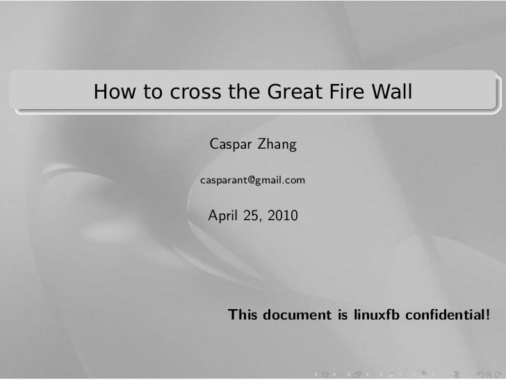 .                                                             ..    How to cross the Great Fire Wall..                    ...