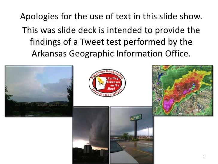 April 30 & May 1, 2010 Storms