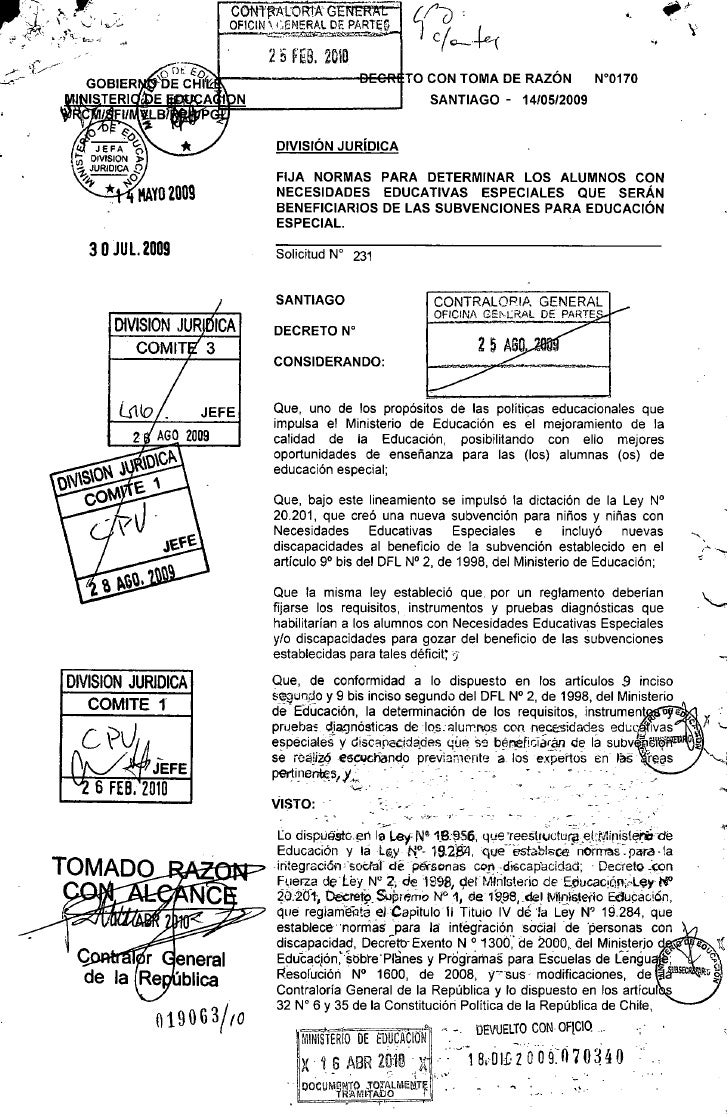 Decreto 170