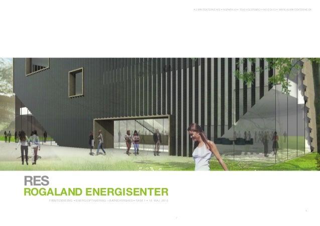 Rogaland Energisenter skisser