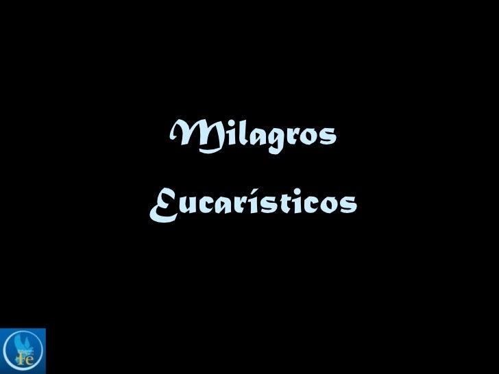 MilagrosEucarísticos