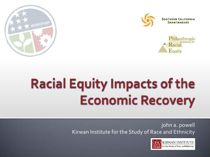 Racial Equity Impacts of the Economic Recovery