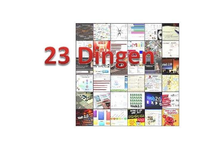 Afsluitingsbijeenkomst 23 dingen: categoriewinnaars van Mediacentrum weblogs